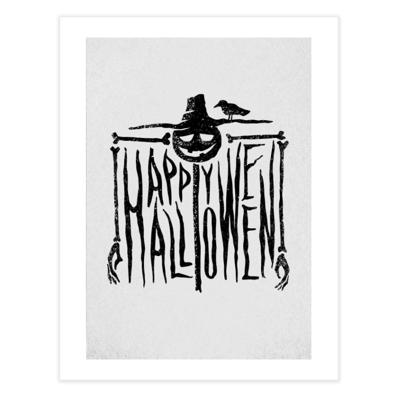 Scarecrow  Home Fine Art Print by artfanat.shop
