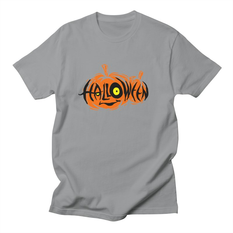 Pumpkin Women's Regular Unisex T-Shirt by artfanat.shop