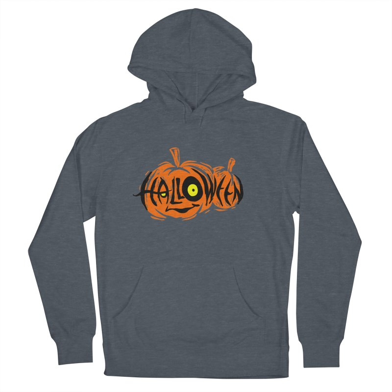 Pumpkin Men's Pullover Hoody by artfanat.shop