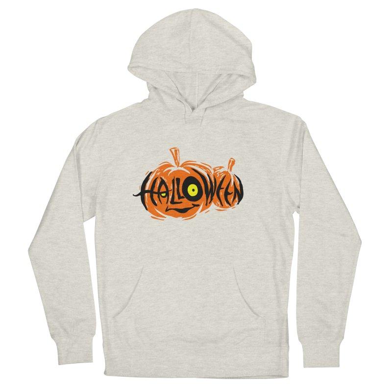 Pumpkin Men's Pullover Hoody by artfanat.shop
