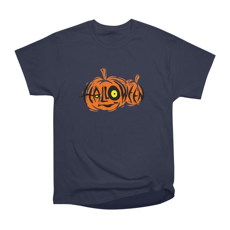 Pumpkin Women's Classic Unisex T-Shirt by artfanat.shop