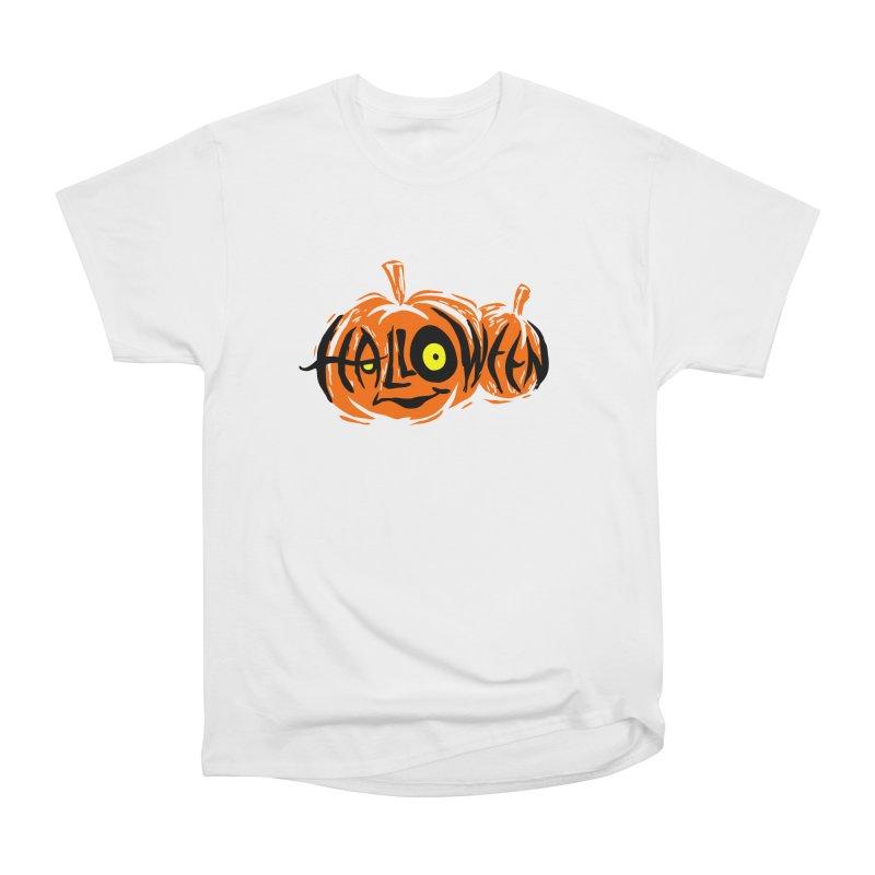 Pumpkin Women's Heavyweight Unisex T-Shirt by artfanat.shop