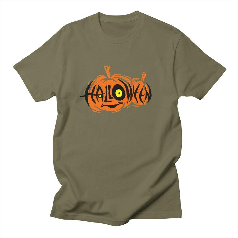 Pumpkin Men's T-Shirt by artfanat.shop