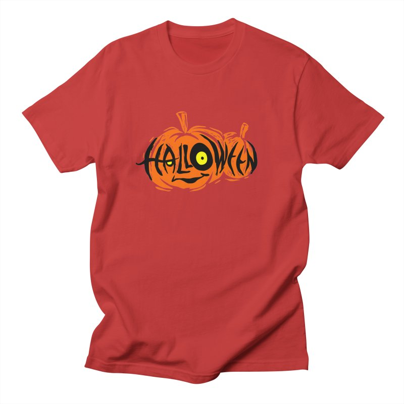 Pumpkin Men's Regular T-Shirt by artfanat.shop