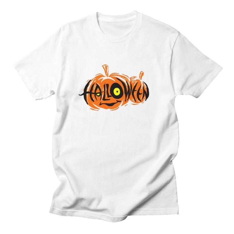 Pumpkin Men's Regular T-Shirt by artfanat.shop