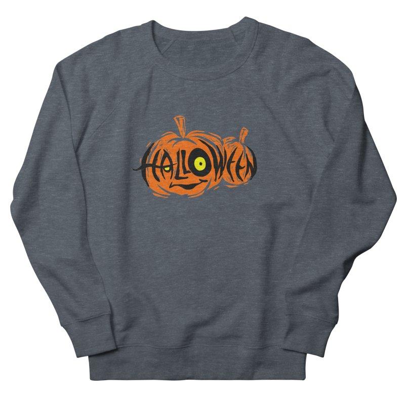 Pumpkin Women's French Terry Sweatshirt by artfanat.shop
