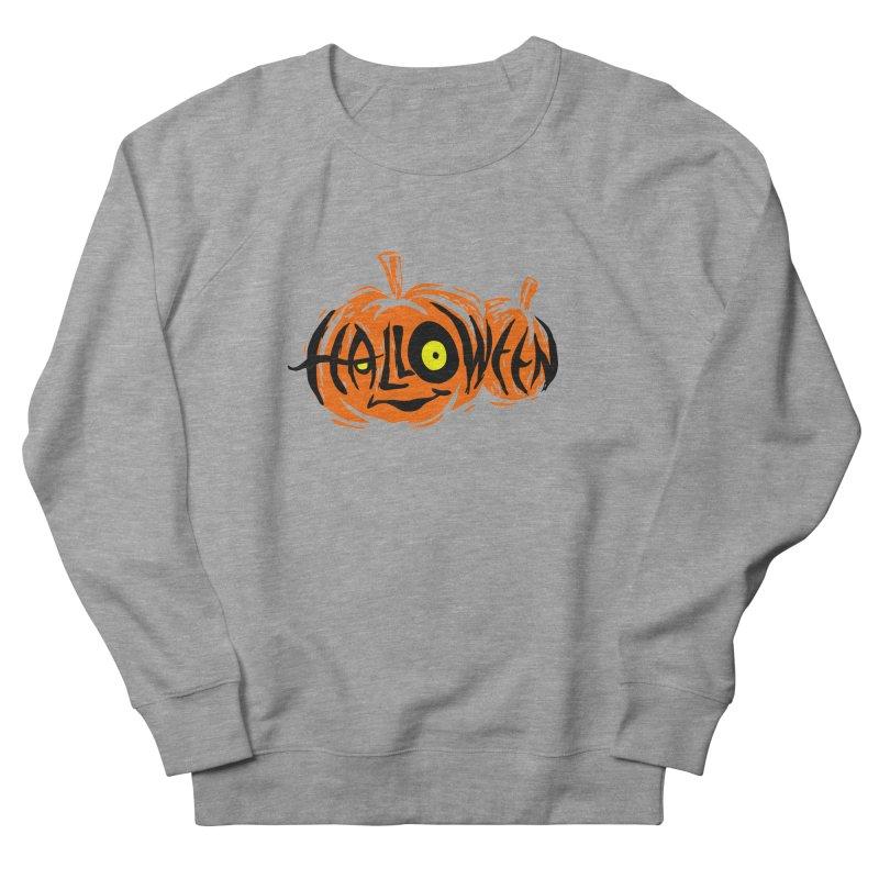 Pumpkin Men's French Terry Sweatshirt by artfanat.shop