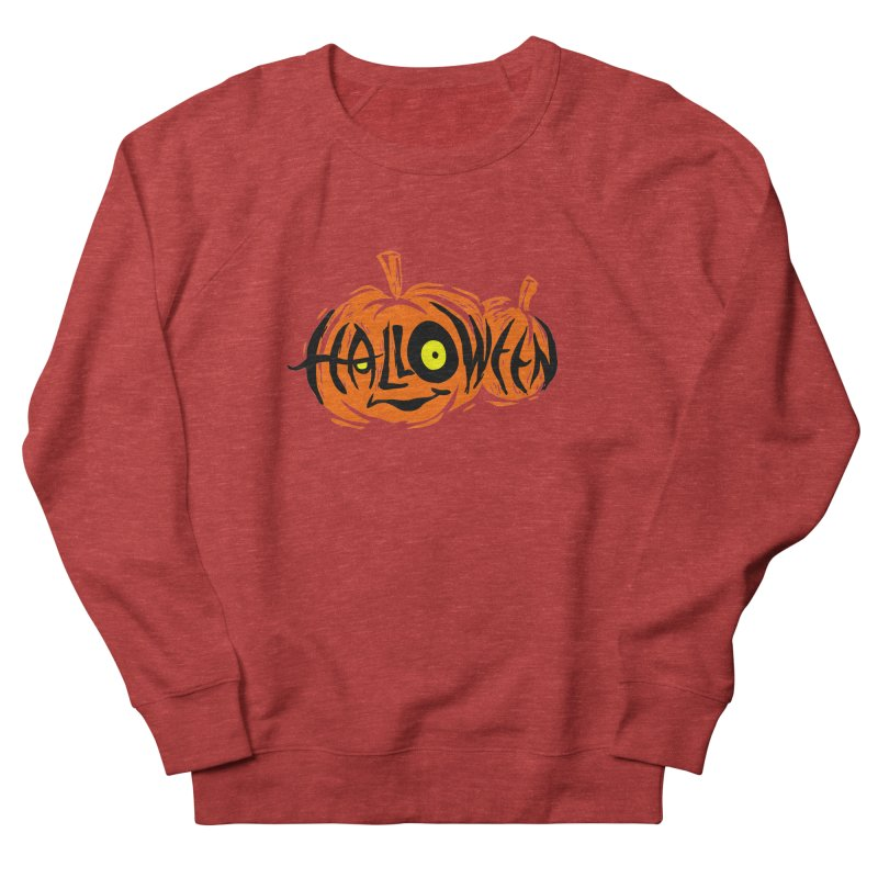 Pumpkin Men's French Terry Sweatshirt by artfanat.shop