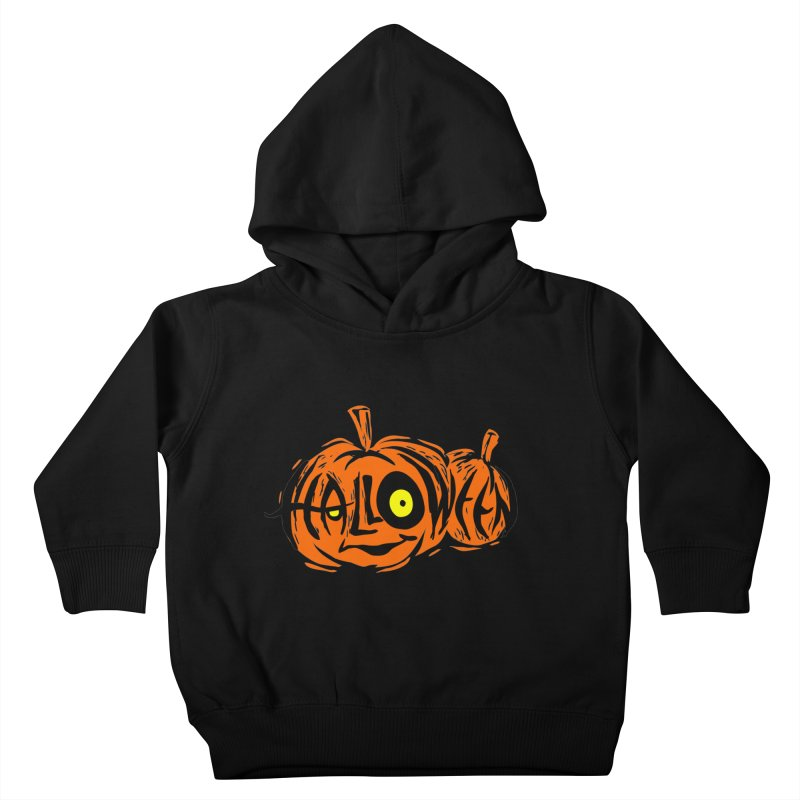 Pumpkin Kids Toddler Pullover Hoody by artfanat.shop