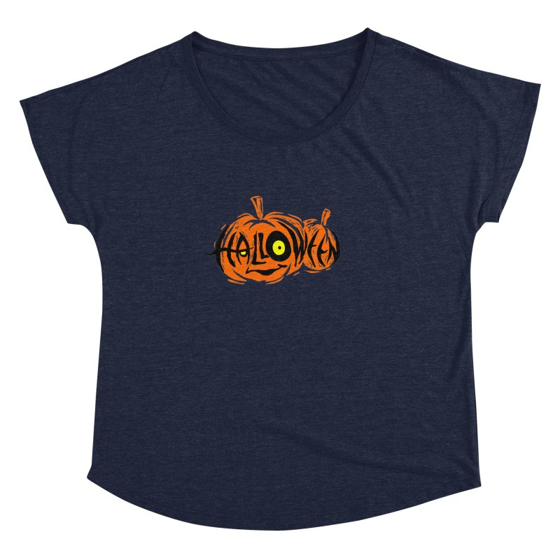 Pumpkin Women's Dolman by artfanat.shop