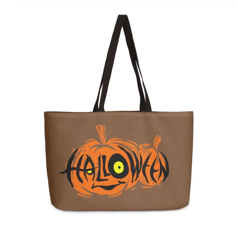 Pumpkin Accessories Weekender Bag Bag by artfanat.shop