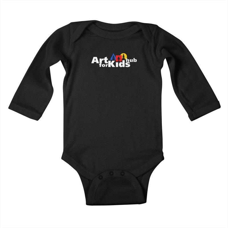 Art For Kids Hub Kids Baby Longsleeve Bodysuit by Art For Kids Hub Store