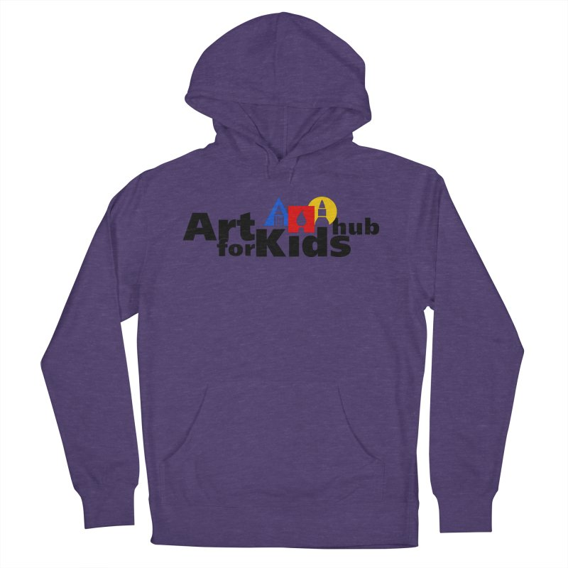 Art For Kids Hub (Black Letter Logo) Women's Pullover Hoody by Art For Kids Hub Store