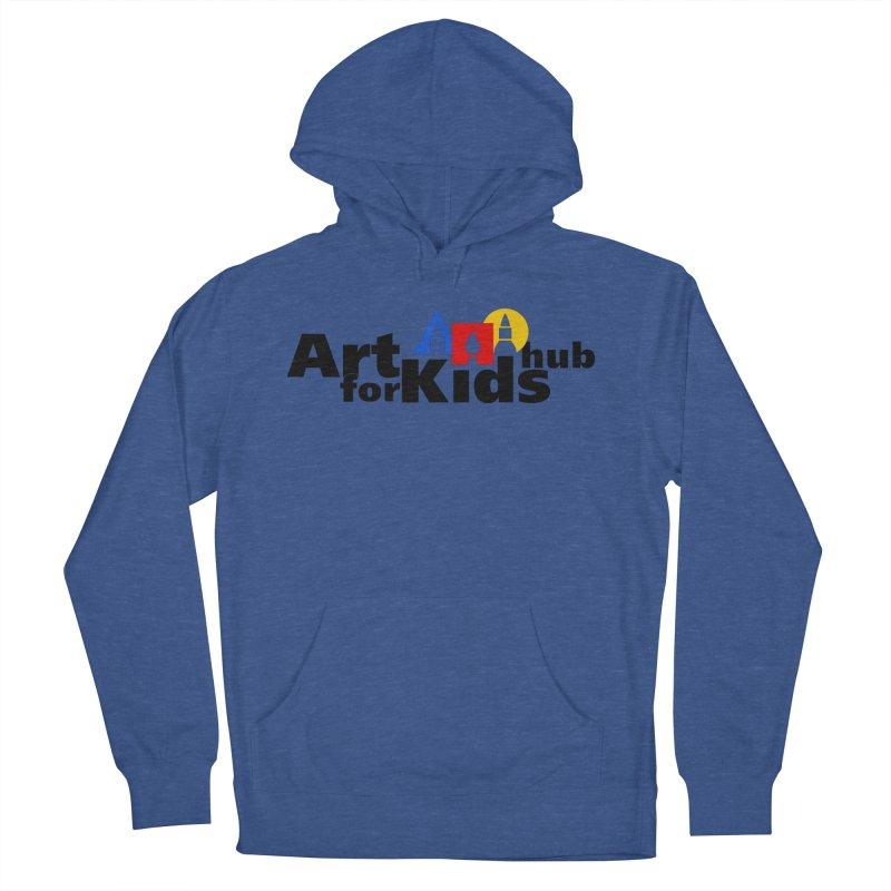 Art For Kids Hub (Black Letter Logo) Men's Pullover Hoody by Art For Kids Hub Store