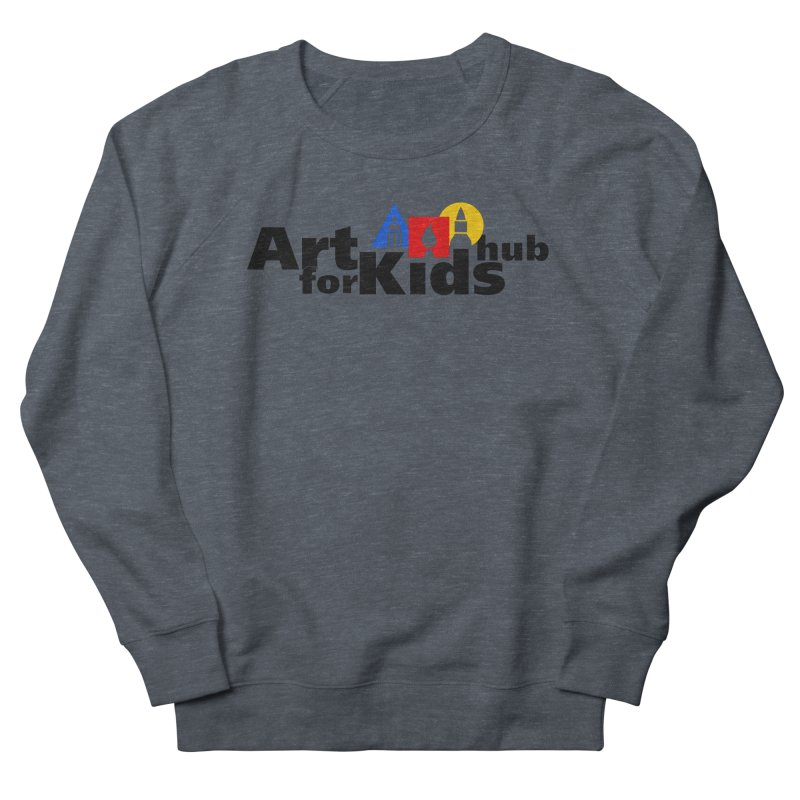 Art For Kids Hub (Black Letter Logo) Women's Sweatshirt by Art For Kids Hub Store