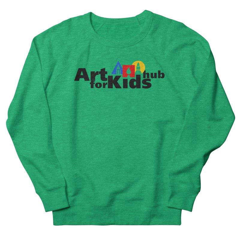 Art For Kids Hub (Black Letter Logo) Men's Sweatshirt by Art For Kids Hub Store