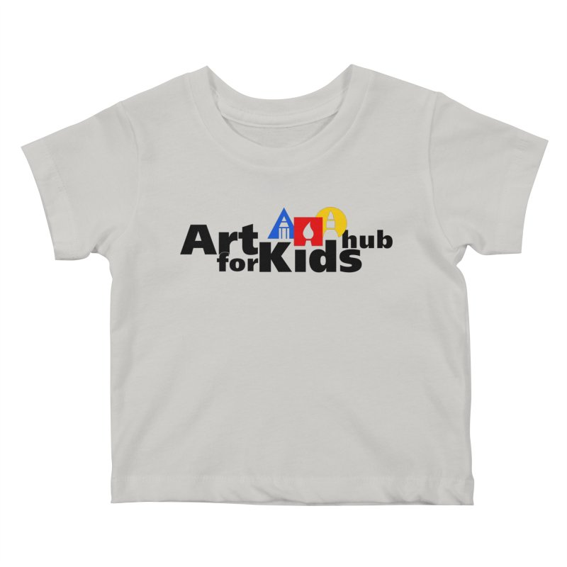 Art For Kids Hub (Black Letter Logo) Kids Baby T-Shirt by Art For Kids Hub Store