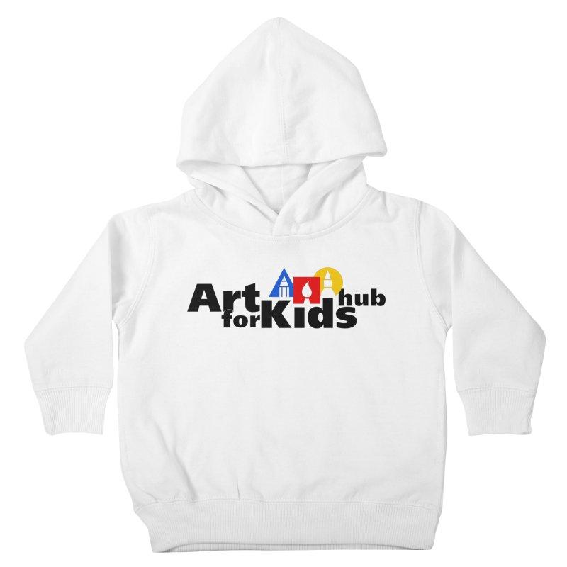 Art For Kids Hub (Black Letter Logo) Kids Toddler Pullover Hoody by Art For Kids Hub Store
