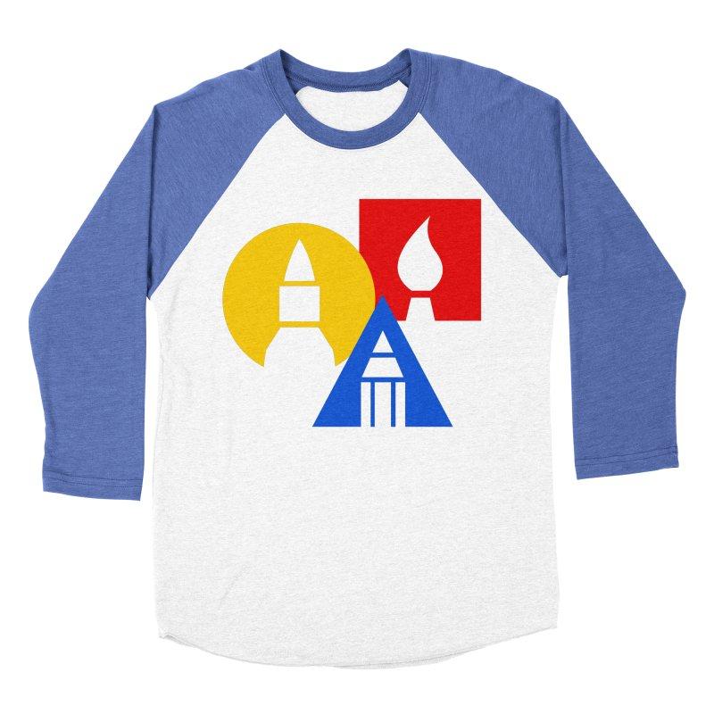 Art For Kids Hub - Icon Men's Baseball Triblend T-Shirt by Art For Kids Hub Store