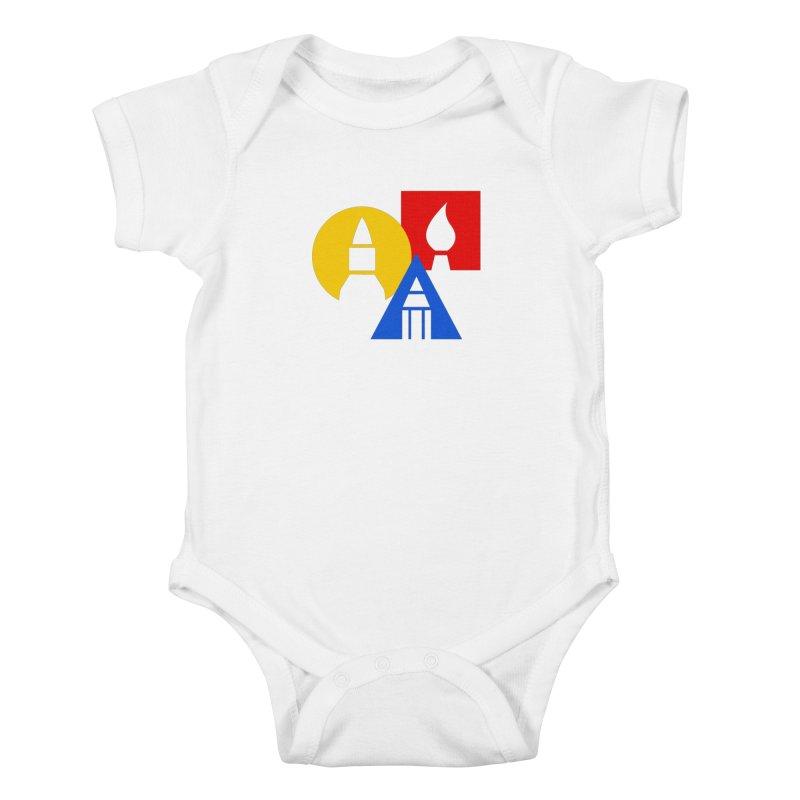 Art For Kids Hub - Icon Kids Baby Bodysuit by Art For Kids Hub Store