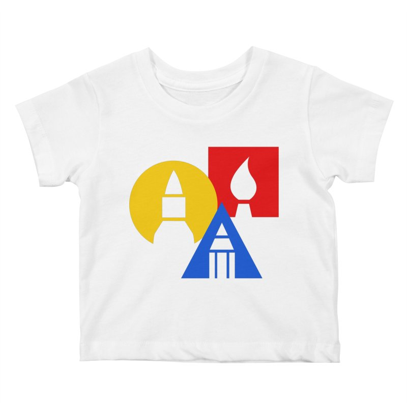 Art For Kids Hub - Icon Kids Baby T-Shirt by Art For Kids Hub Store