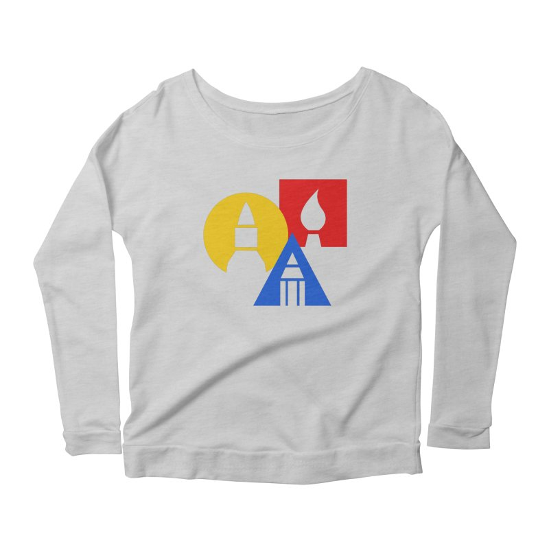 Art For Kids Hub - Icon Women's Longsleeve Scoopneck  by Art For Kids Hub Store