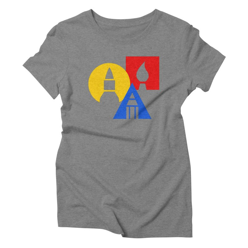 Art For Kids Hub - Icon Women's Triblend T-Shirt by Art For Kids Hub Store