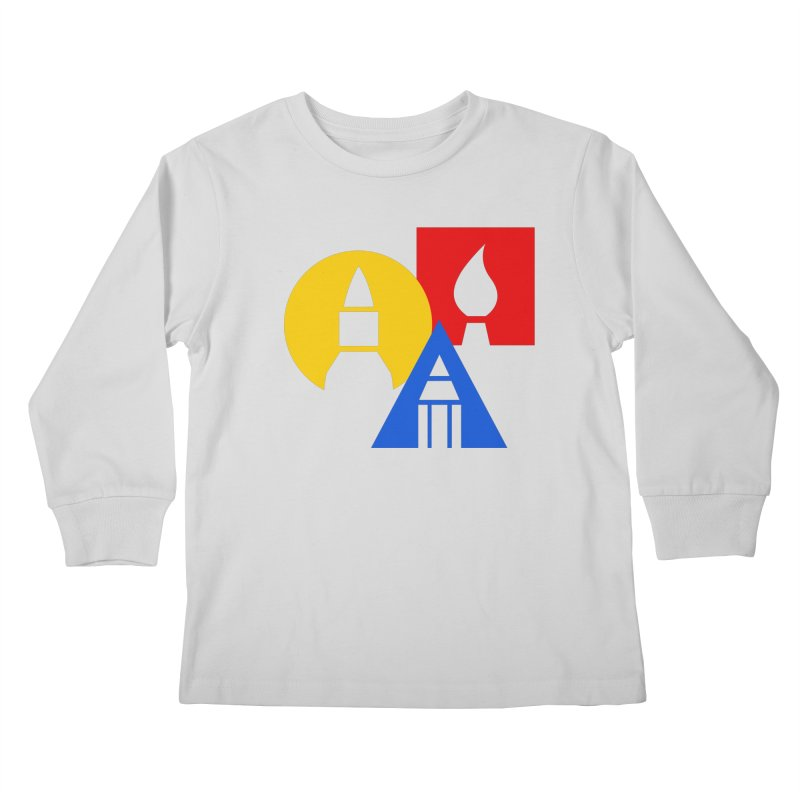 Art For Kids Hub - Icon Kids Longsleeve T-Shirt by Art For Kids Hub Store