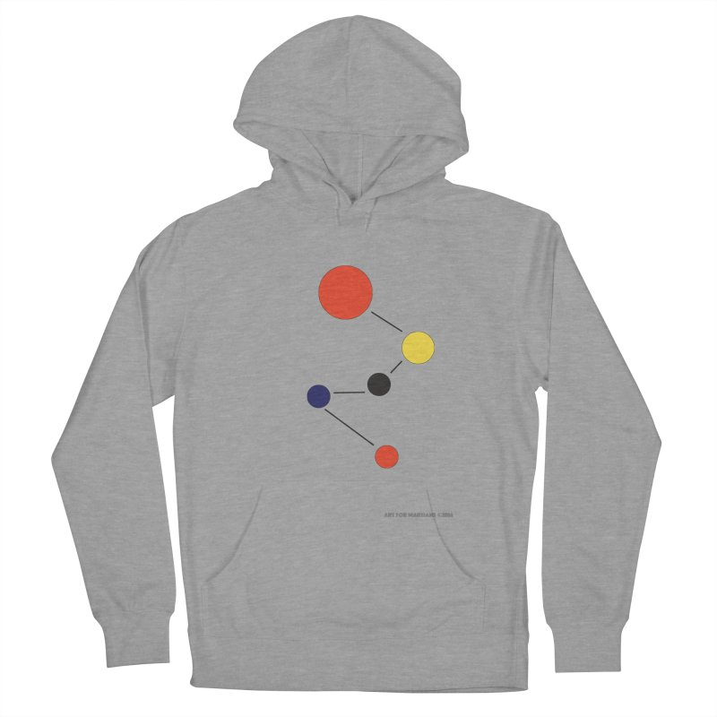 5 Planets Women's French Terry Pullover Hoody by SuperOpt Shop