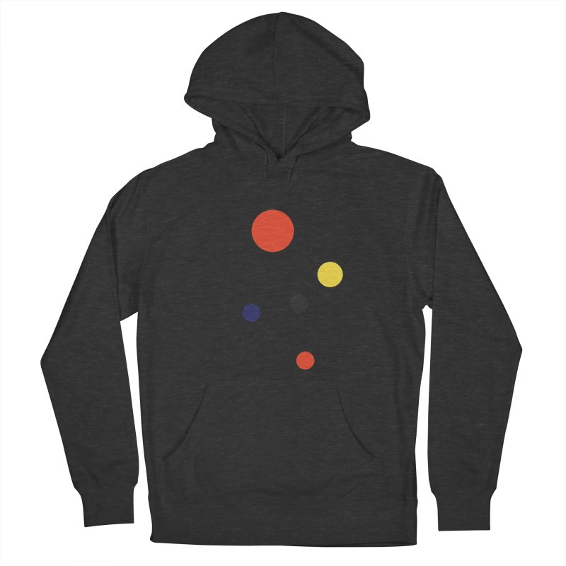 5 Planets Men's French Terry Pullover Hoody by SuperOpt Shop