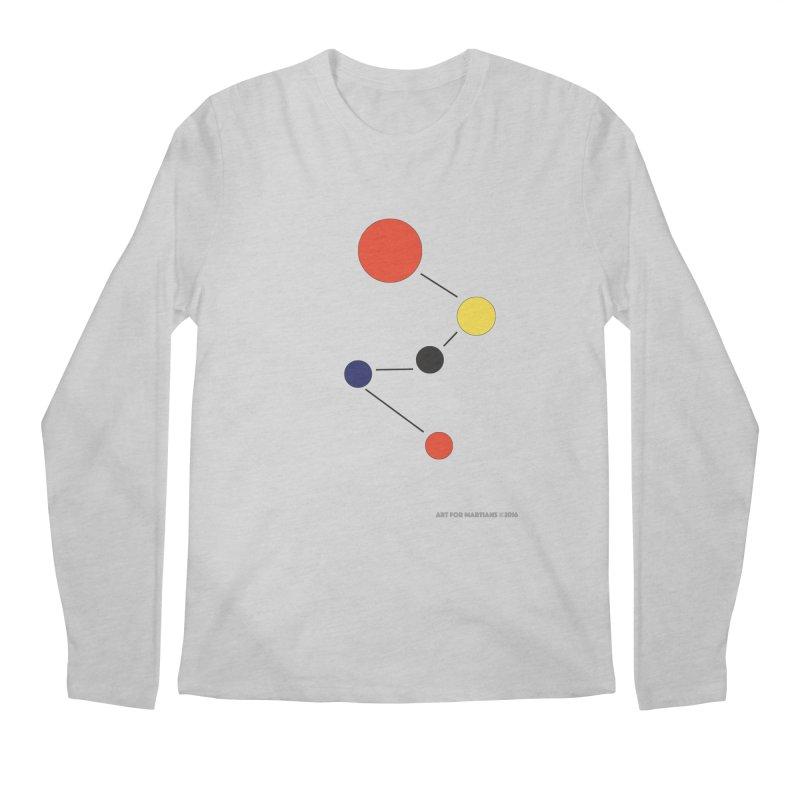 5 Planets Men's Regular Longsleeve T-Shirt by SuperOpt Shop