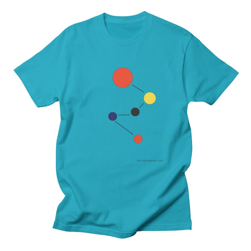 5 Planets Men's Regular T-Shirt by SuperOpt Shop