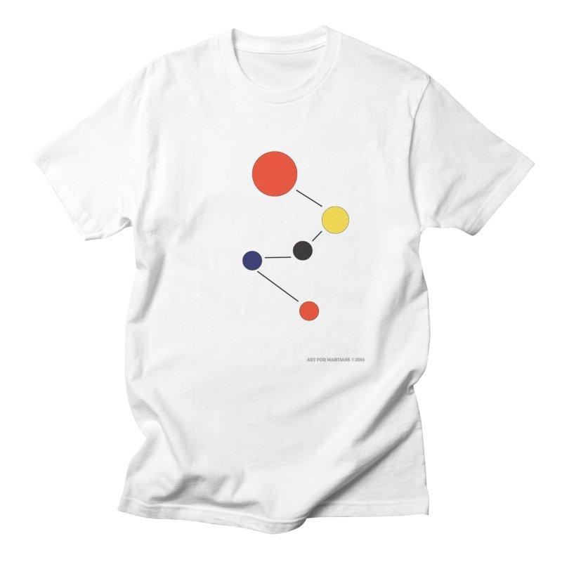 5 Planets Men's Regular T-Shirt by SuperOpt Shop