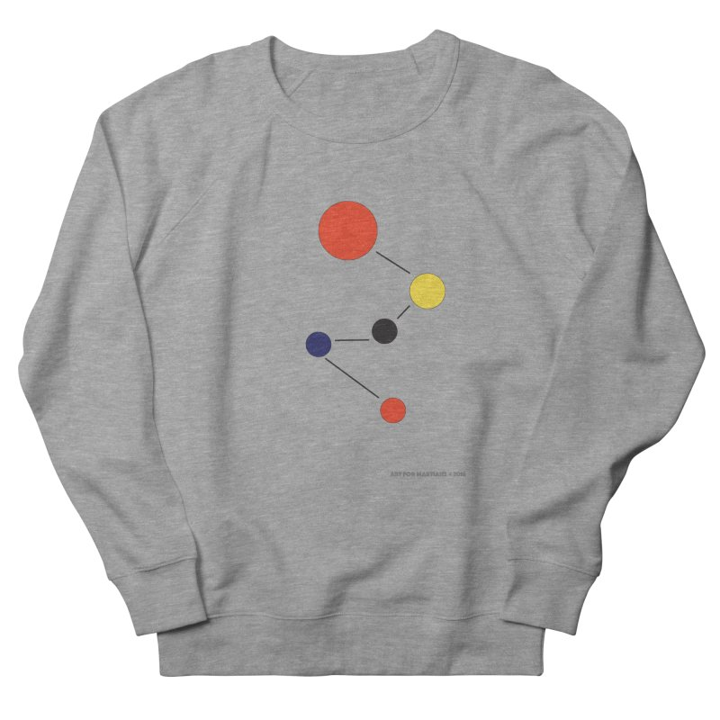 5 Planets Men's French Terry Sweatshirt by SuperOpt Shop