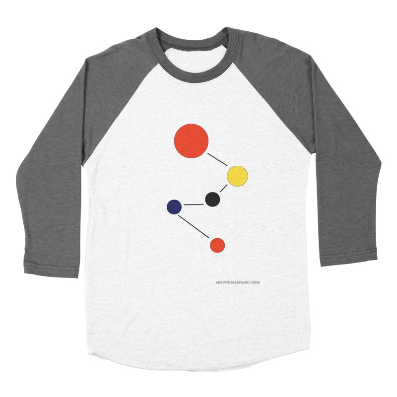 5 Planets Men's Baseball Triblend Longsleeve T-Shirt by SuperOpt Shop