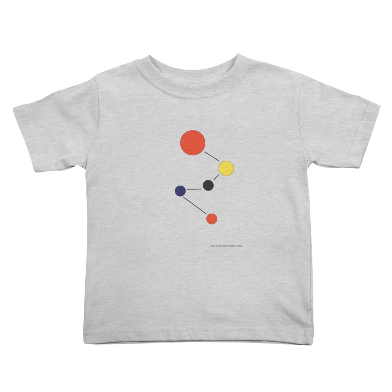 5 Planets Kids Toddler T-Shirt by SuperOpt Shop