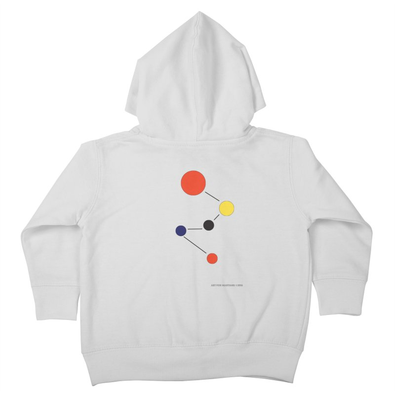 5 Planets Kids Toddler Zip-Up Hoody by SuperOpt Shop