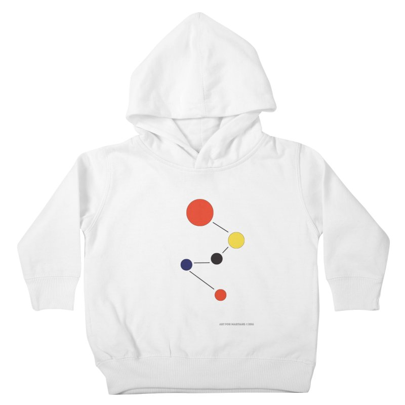 5 Planets Kids Toddler Pullover Hoody by SuperOpt Shop