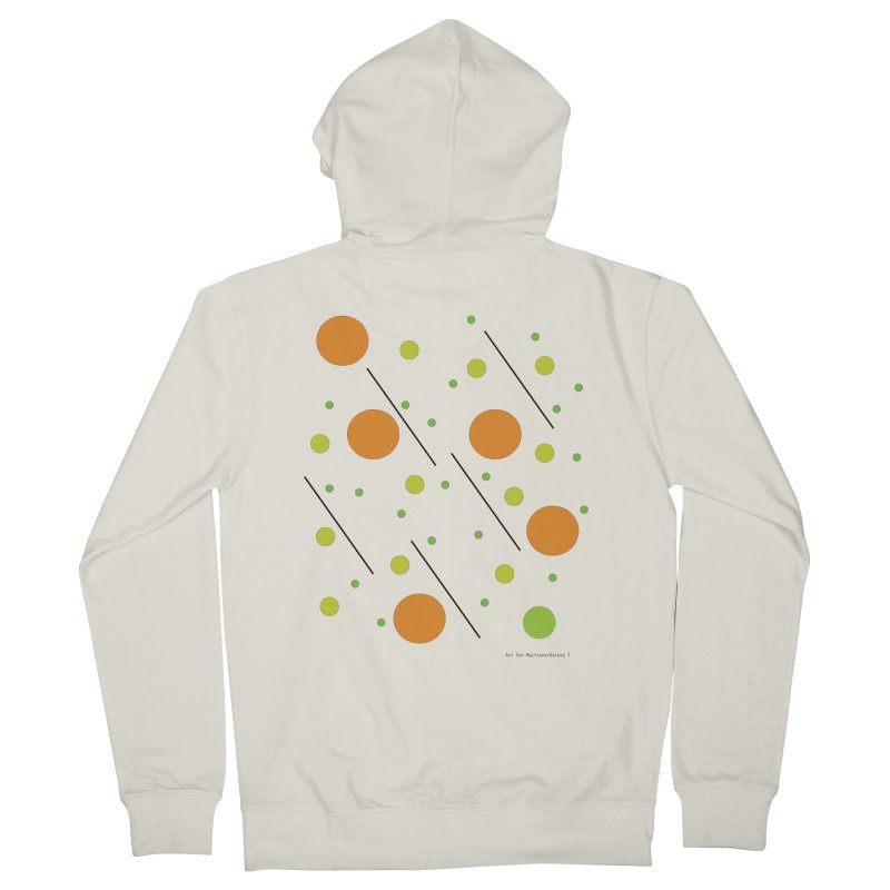 Galaxy5 Women's French Terry Zip-Up Hoody by SuperOpt Shop