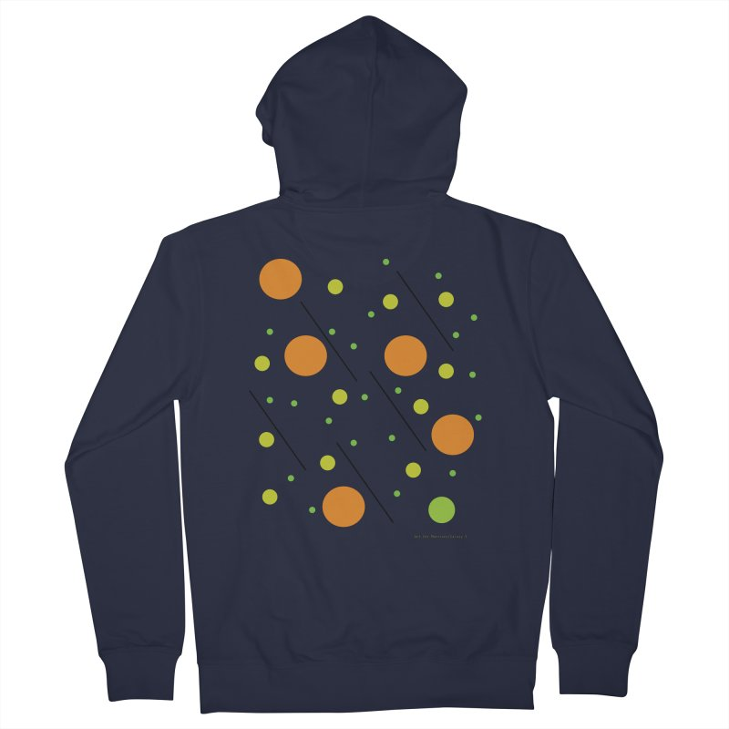 Galaxy5 Men's French Terry Zip-Up Hoody by SuperOpt Shop
