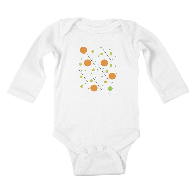 Galaxy5 Kids Baby Longsleeve Bodysuit by SuperOpt Shop