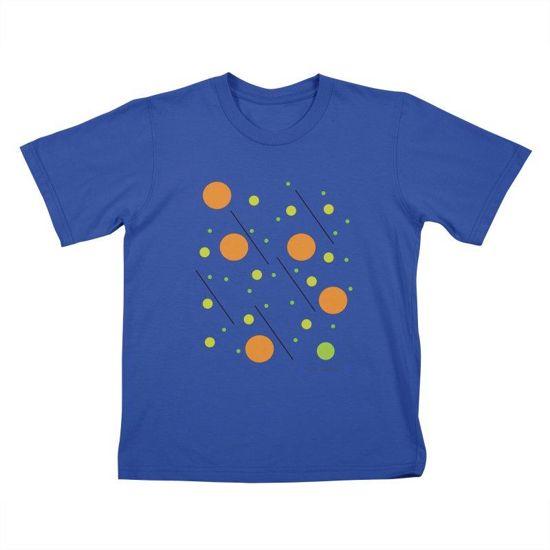 Galaxy5 Kids T-Shirt by SuperOpt Shop