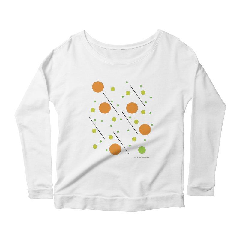 Galaxy5 Women's Scoop Neck Longsleeve T-Shirt by SuperOpt Shop