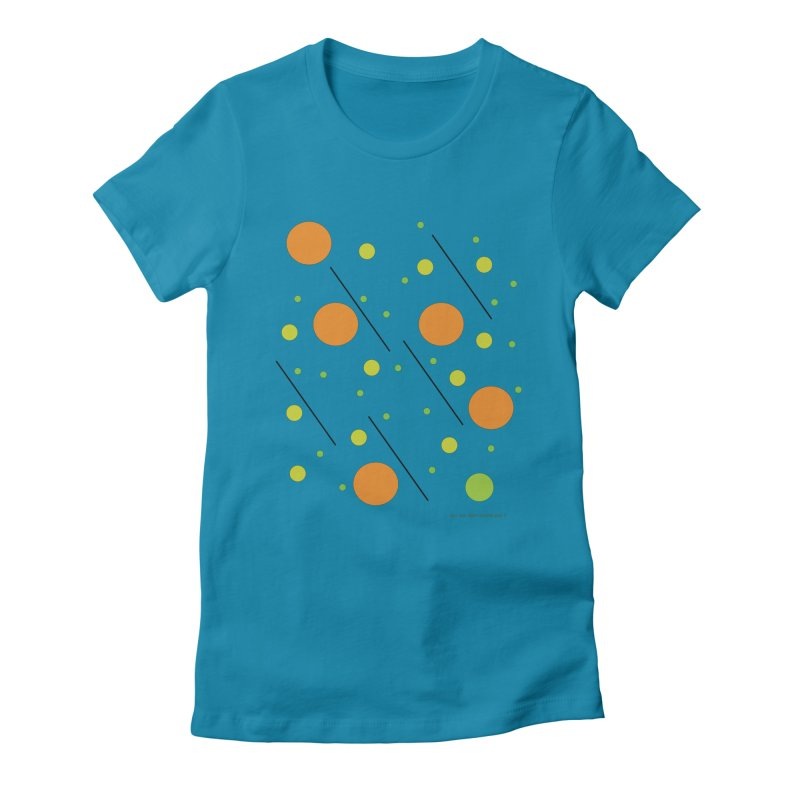 Galaxy5 Women's Fitted T-Shirt by SuperOpt Shop