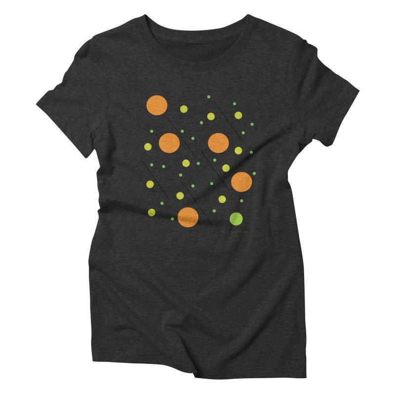 Galaxy5 Women's Triblend T-Shirt by SuperOpt Shop