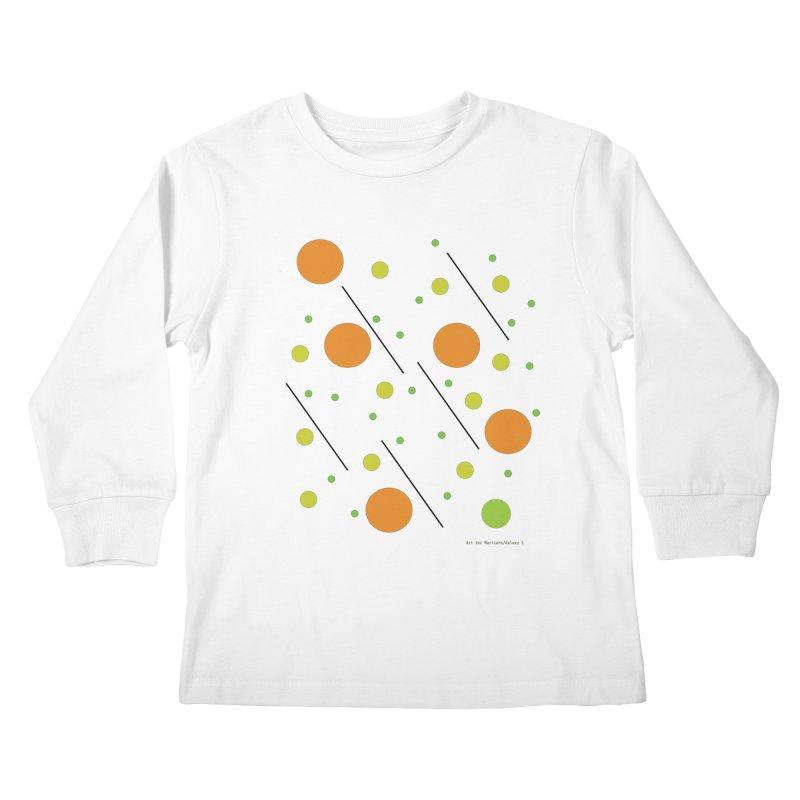 Galaxy5 Kids Longsleeve T-Shirt by SuperOpt Shop