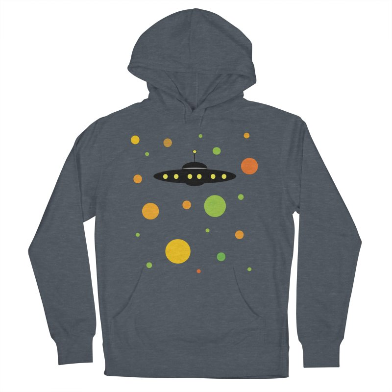 Among friends Men's French Terry Pullover Hoody by SuperOpt Shop