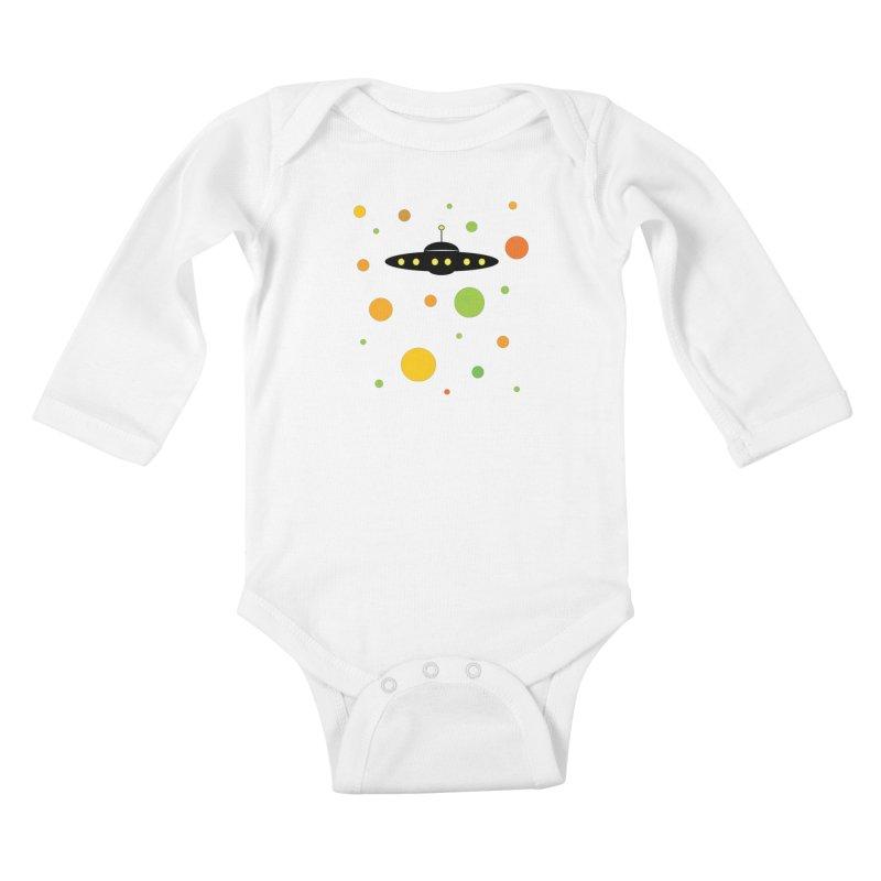 Among friends Kids Baby Longsleeve Bodysuit by SuperOpt Shop