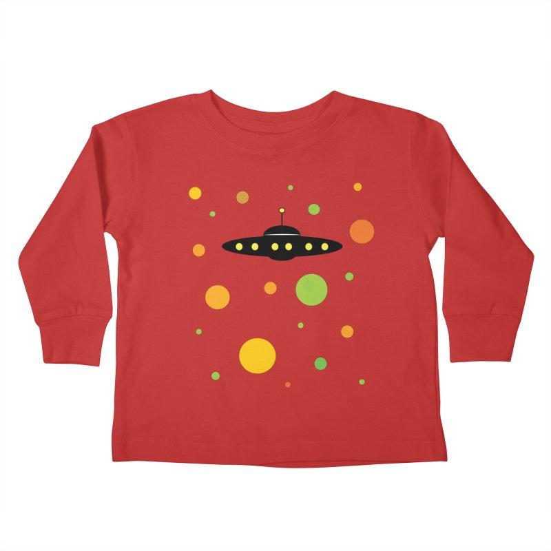 Among friends Kids Toddler Longsleeve T-Shirt by SuperOpt Shop