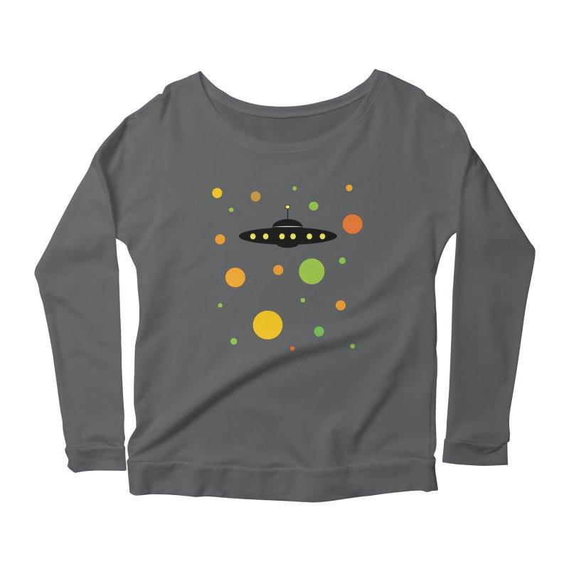 Among friends Women's Scoop Neck Longsleeve T-Shirt by SuperOpt Shop